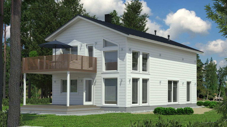 Log home Koistila 160