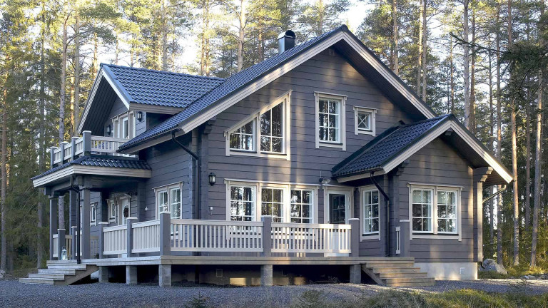 Log home Riekamo 176